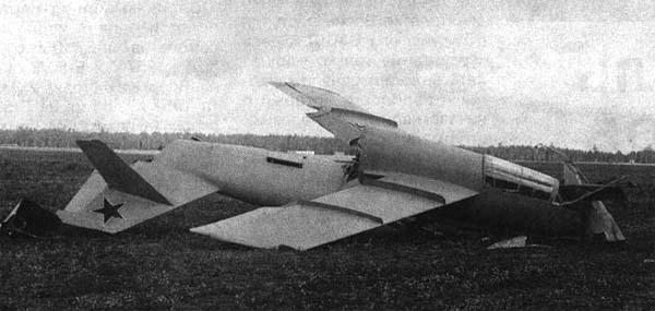 6.Самолет 5 после аварии 5.09.1948 г