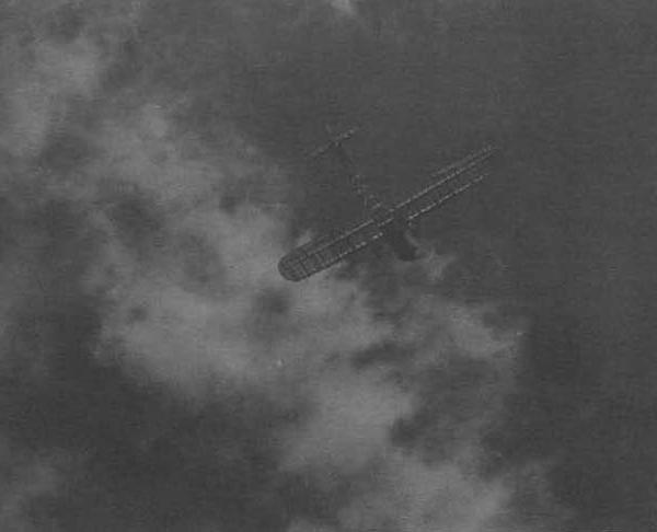 6.Самолет ПС в полете. Серпухов. Июль 1935 г.