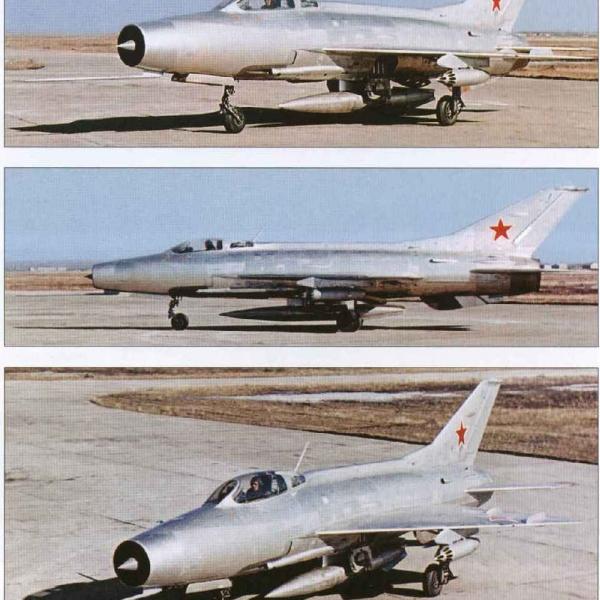 6.Серийный МиГ-21Ф ВВС СССР.
