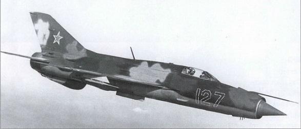 serijnyj-mig-21pf-v-polete