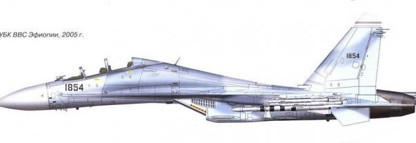 6.Су-27УБК. Рисунок