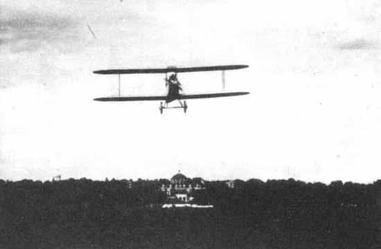 6а.Самолет АИР-1 в полете. 12 июля 1927 г.