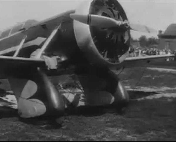 7.АИР-7 на праздновании Дня авиации. Москва, Центральный аэродром. 18 августа 1933 г.
