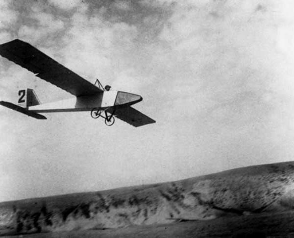 7.АВФ-20 в полете. IV Всесоюзные планерные состязания. Коктебель. Сентябрь 1927 г. 2