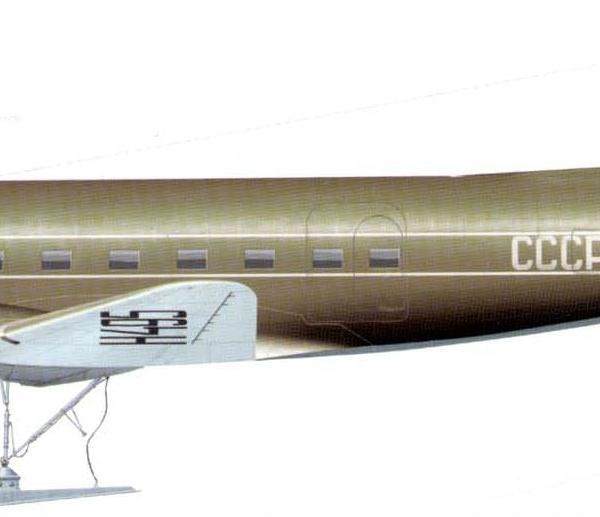7.Ли-2В Полярной авиации. Рисунок 1.