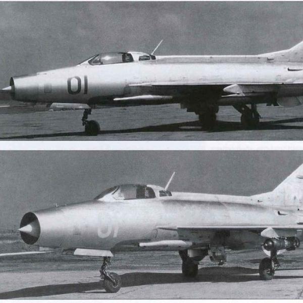 7.МиГ-21Ф с ФАБ-250 М54 на рулежке.