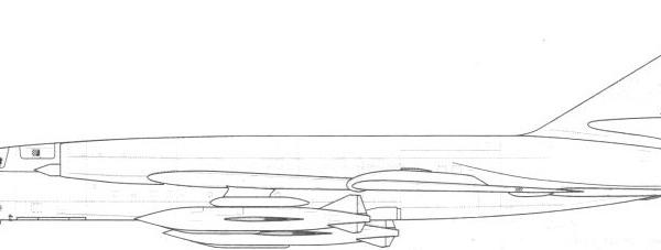 7.Самолет 98 с ракетами П-15М. Схема.
