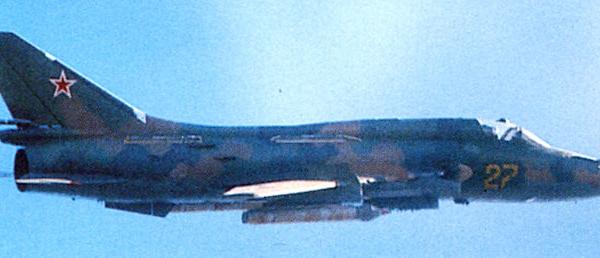 7.Су-17М3 в полете.