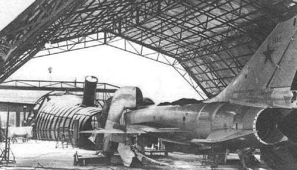 7.Т-58ВД во время отработки на стенде.