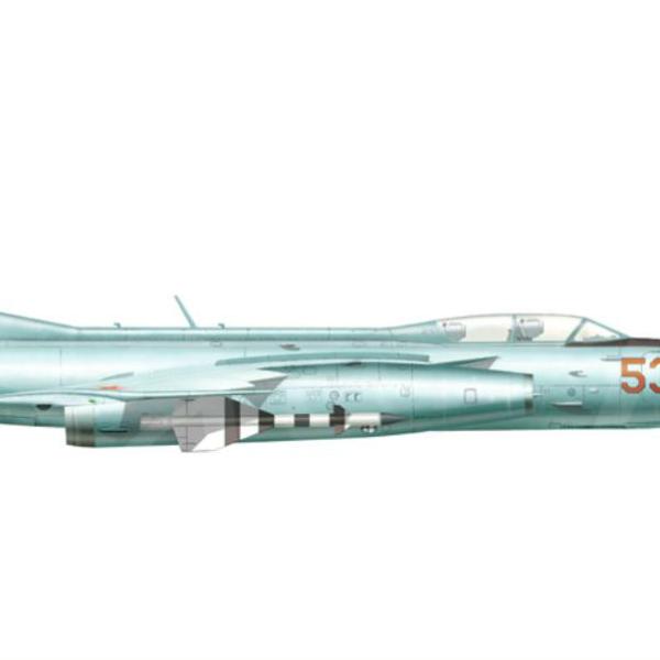 7.Як-28П ВВС СССР. Рисунок.