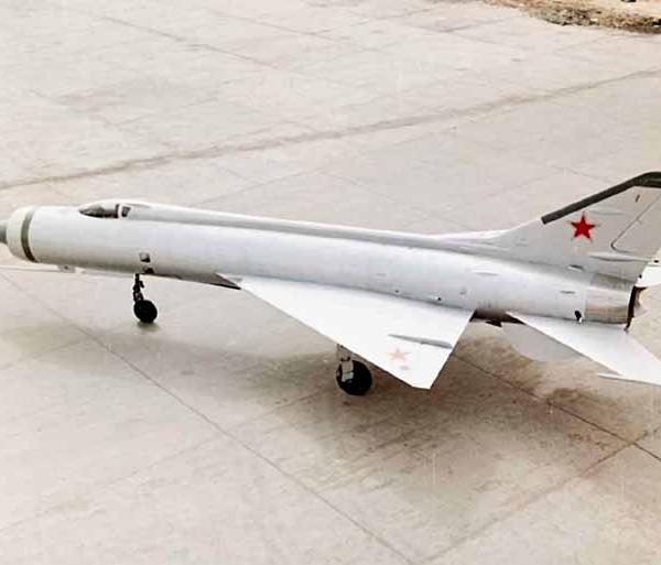 7а.Экспериментальный истребитель-перехватчик Е-152А