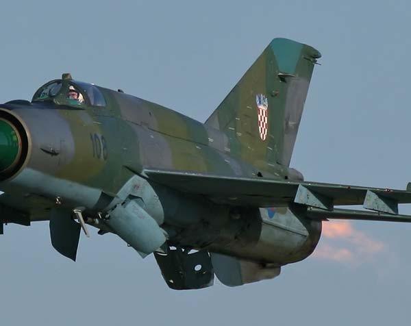 7а.МиГ-21бис ВВС Хорватии.