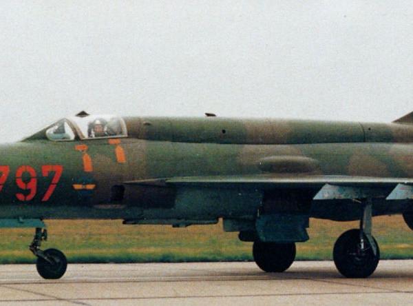 7в.МиГ-21бис ВВС ГДР.