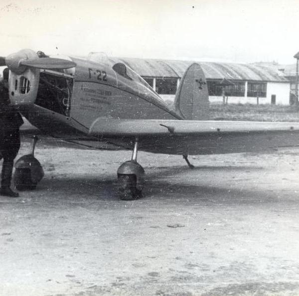 8.Г-22 с раскапотированным двигателем. 2