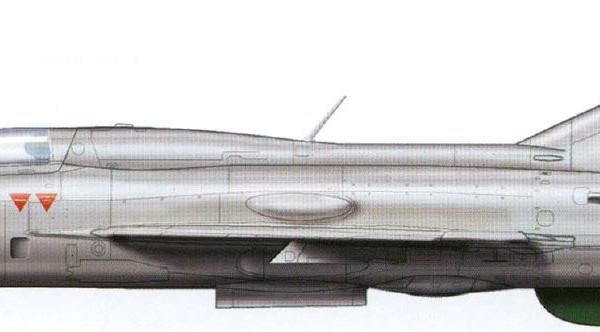 8.МиГ-21ФЛ ВВС Индии. Рисунок