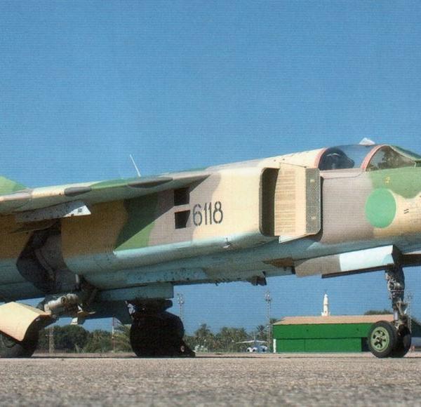 8.МиГ-23МЛ ВВС Ливии.