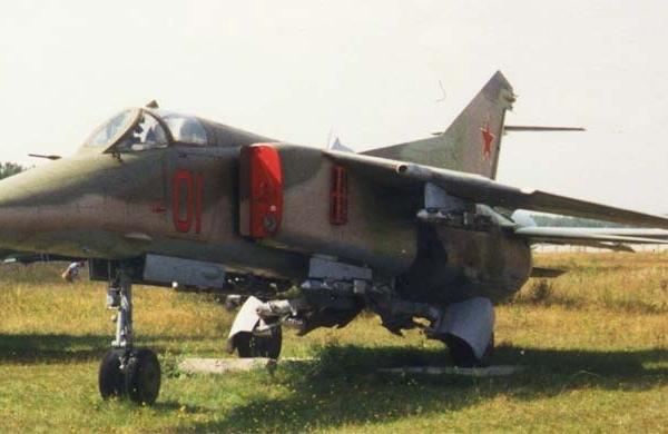 8.МиГ-27 в музее ВВС Монино.