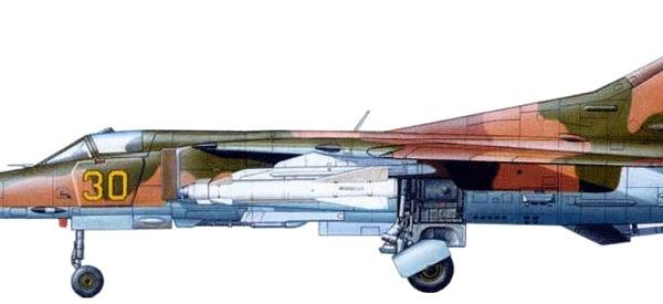 8.МиГ-27Д ВВС СССР. Рисунок.