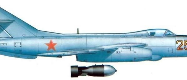 8.Опытный Як-125Б. Рисунок