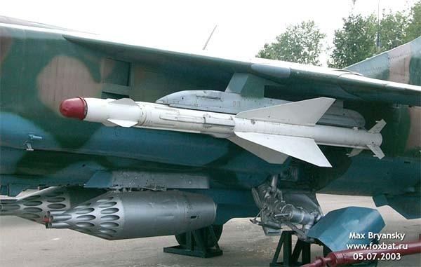 8.Р-23Т на МиГ-23М.
