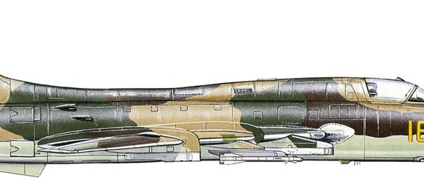 8.Су-17М3 ВВС СССР. Рисунок.