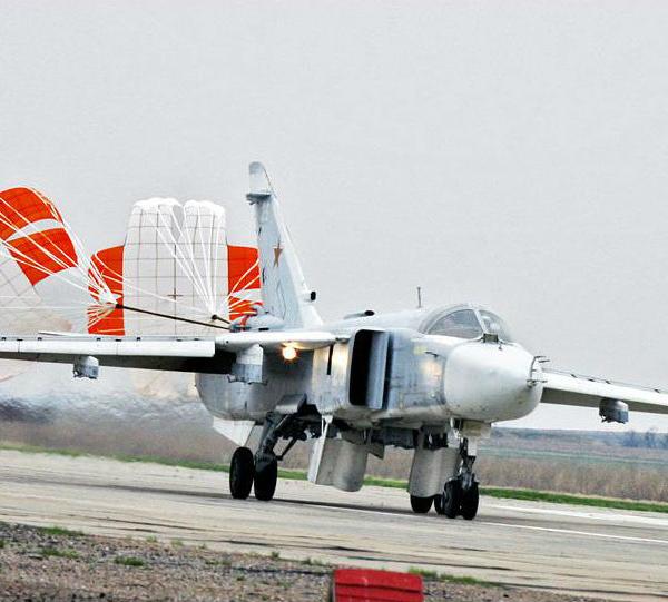 8.Су-24 на пробеге.