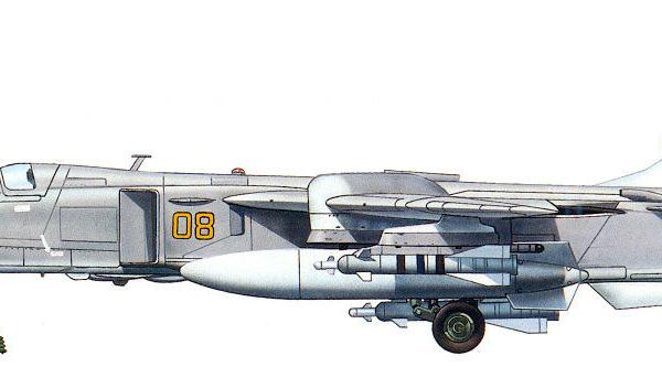 8.Су-24МК. Рисунок.