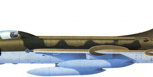 Су-7БМК ВВС ЧССР. Рисунок.