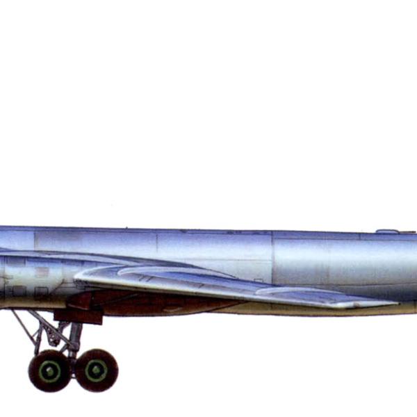 8.Ту-95. Рисунок.