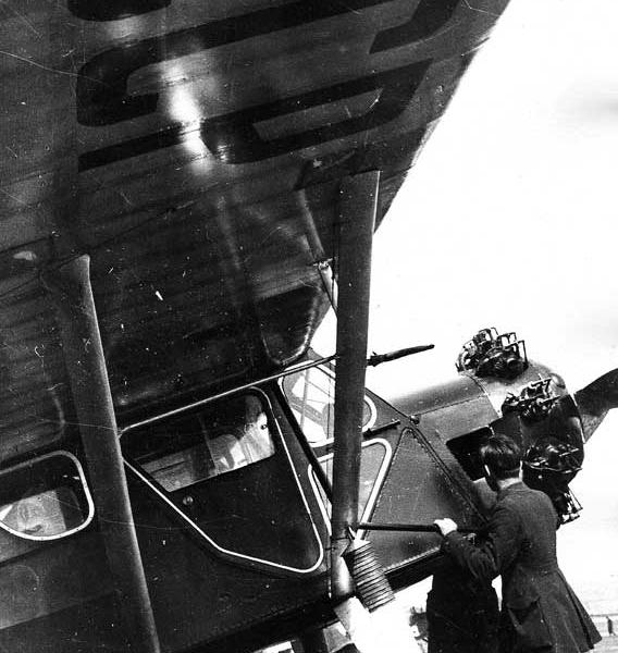 9.АИР-5. Москва Центральный аэродром. Лето 1932 г.