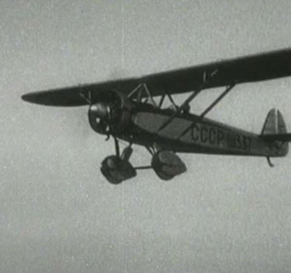 9.ЛК-4-III в полете.