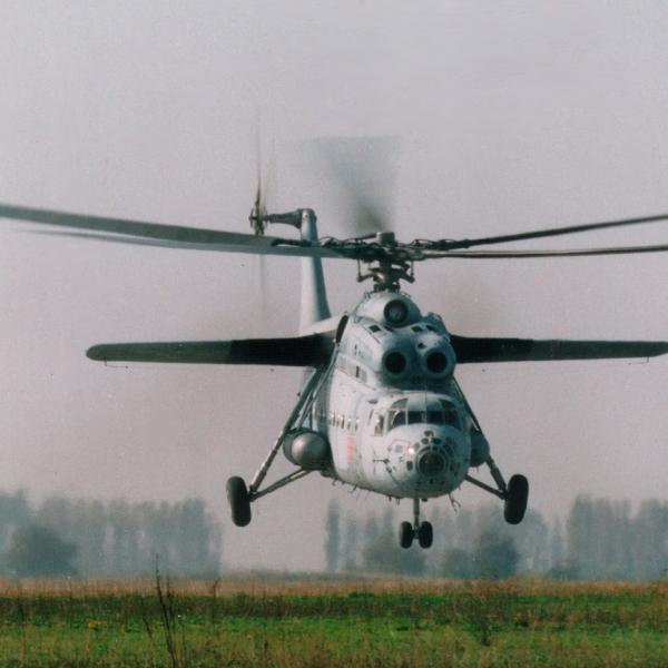 9.Ми-6А. Полет на бреющем.