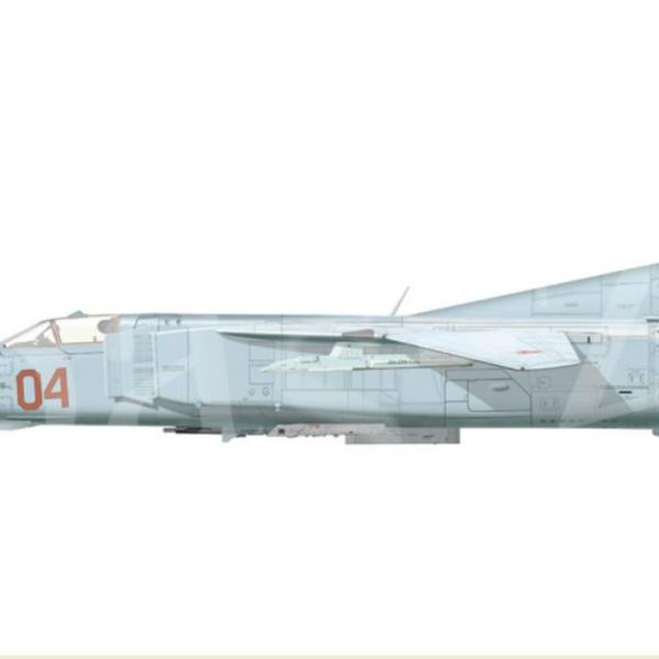 9.МиГ-23М. Рисунок.