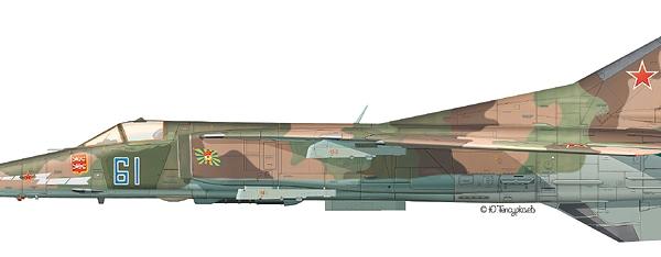 9.МиГ-27Д ВВС СССР. Рисунок. 2