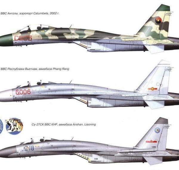 9.Су-27СК. Рисунок
