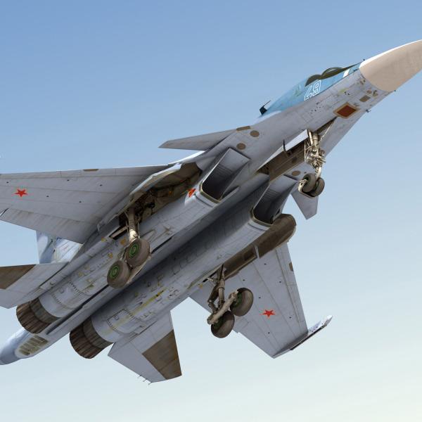 9а.Су-34 на взлёте.