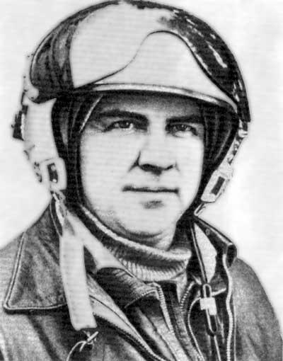 Летчик-испытатель Комаров Александр Сергеевич.