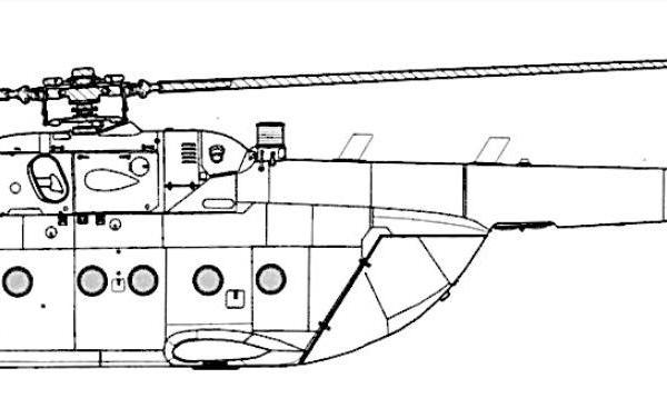Ми-18. Схема.
