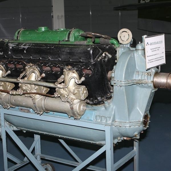 1.Двигатель ВК-105ПФ в музее ВВС Монино.