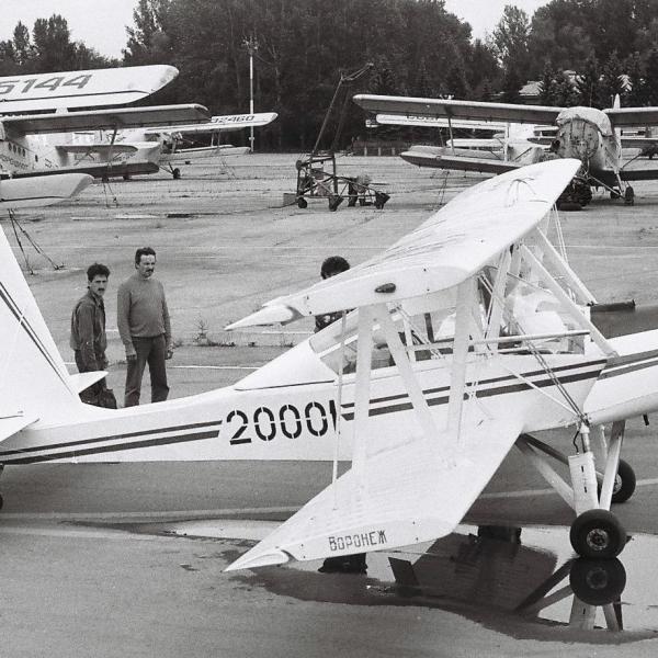 1.Легкий самолет Дебют на СЛА-89.