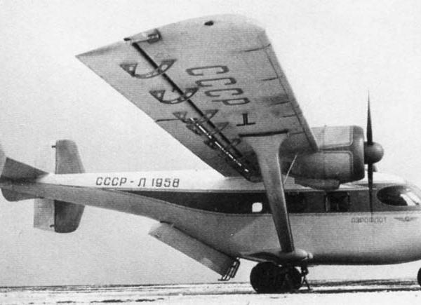 1.Первый опытный Ан-14.