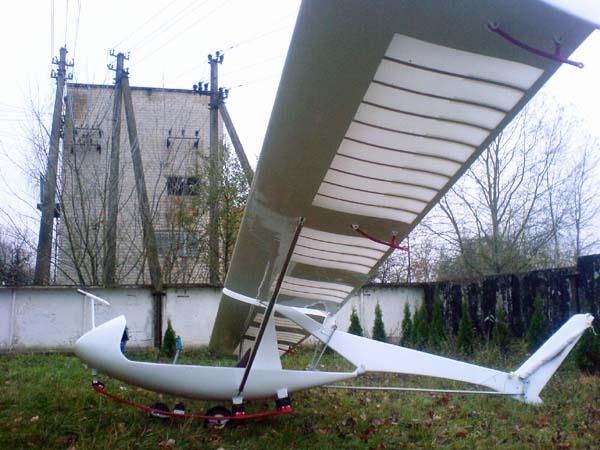 1.Планер БРО-23КР.