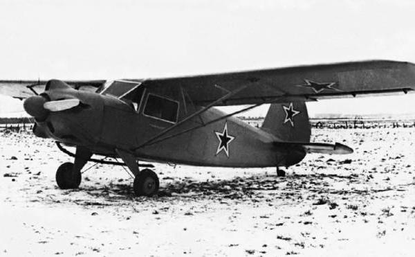 1.Самолет Як-10.