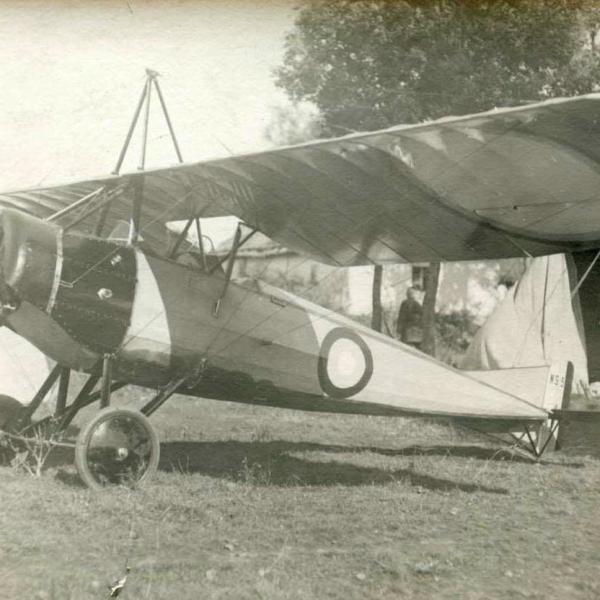1.Самолет-разведчик Morane-Saulnier Р.