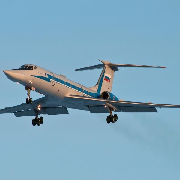 1.Ту-134УБ-Л на взлете.