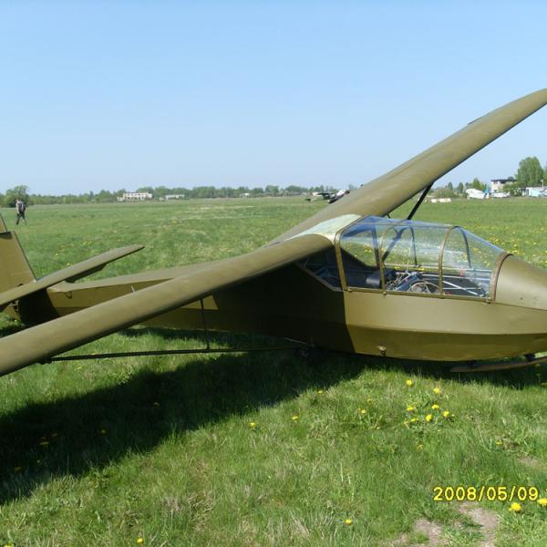 1.Учебно-тренировочный планер КАИ-12 Приморец.