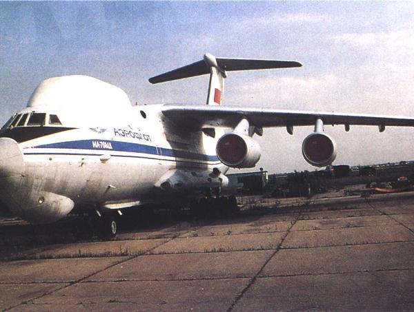 1.ВКП Ил-82 (Ил-76СК) на стоянке.