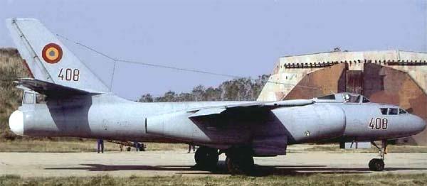 10.Ил-28У ВВС Румынии