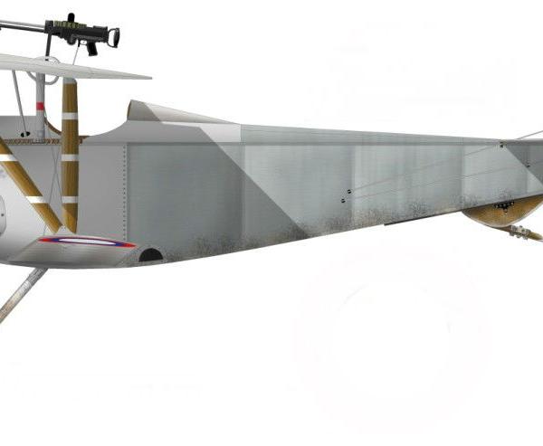 10.Nieuport N.21. Рисунок.