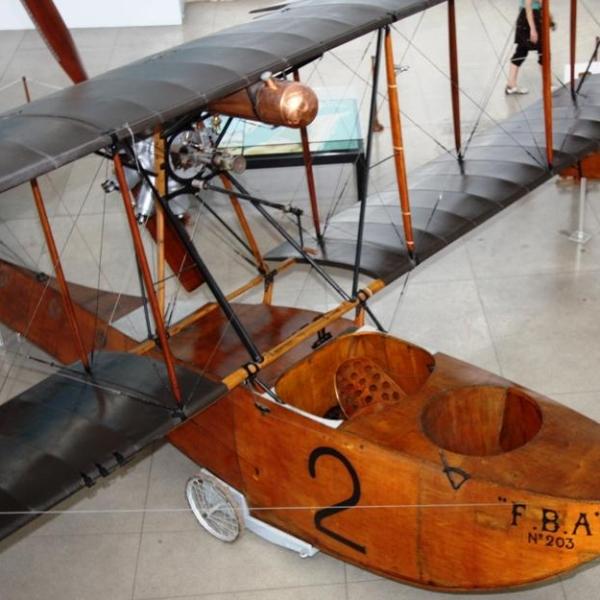 10а.Летающая лодка FBA Type С в авиамузее.